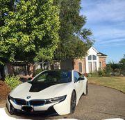 2015 BMW i8 3900 miles