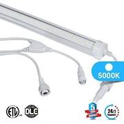 T8  cooler tube V Shape 18w 5000k clear
