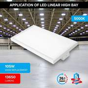 2FT LED Linear HighBay-105W  UL, DLC,  Rebate Eligible