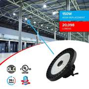 HIGH BAY UFO LED LIGHT || WAREHOUSE LIGHTS || POWER SAVER || MEANWELL