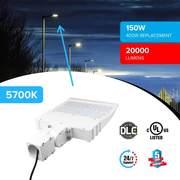 LED Pole Light 150 Watt 5700K ($129.99)