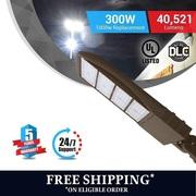 Classic Designed LED Pole Light Bronze finish 300watt.