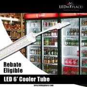 Black Friday Sale - Buy 6ft LED Cooler V Shape Rebate Eligible Tube