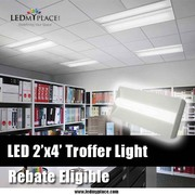 Buy LED Troffer 2X4 140W Equivalent 5000K With Dimmable Feature and Re
